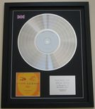 MICHAEL JACKSON - INVINCIBLE CD / PLATINUM LP DISC